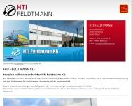 Bild Webseite HTI Feldtmann Hamburg