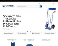 Bild Webseite Kock & Sack Hamburg