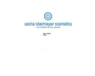 Bild Webseite Uscha Obermayer Cosmetics Hamburg