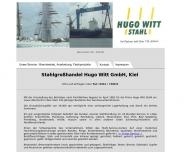 Bild Webseite Witt Hugo Kiel