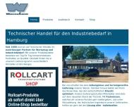 Bild Webseite Warschow Heinz techn.GroßHdl. Ind.Bed. Hamburg