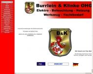 Bild Webseite Burrlein & Klinke Hamburg