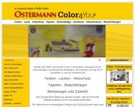 Ostermann-Color in G?tersloh - Farben-Lacke-Holzschutz-Tapeten-Bodenbel?ge-Autolacke-Industrielacke-...