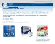 Bild Webseite PARAM Großhandels Hamburg