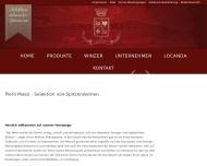 Bild Webseite Piero Massi Köln