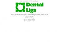 Bild Webseite Dental-Liga Dentalerzeugnisse Großhandelsgesellschaft Köln