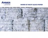 Bild Webseite Ammer Ludwig München