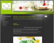 Bild Webseite MÜLLER-SCHOLLÉ Köln