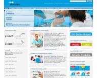 Bild Webseite Pluradent Konstanz