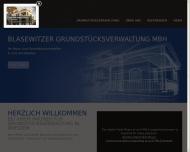 Website BGV Blasewitzer Grundstücksverwaltungsgesellschaft