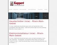 Website Kappert Technische Hausverwaltung