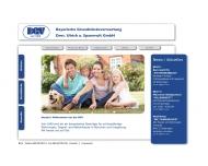 Bild Webseite Bayerische Grundstücksverwertung Dres. Ulrich und Spannruft München
