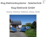 Bild Klug Elektroniksysteme und Solartechnik GmbH