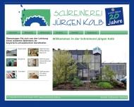 Website Schreinerei Jürgen Kolb
