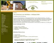 Bild Webseite Müller Heinz Schreinerei Weidenberg