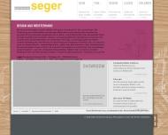 Website Seger - Schreinerei Seger -