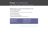Bild Pfisterer Volker Dr.med. Arzt für Allgemeinmedizin , Reinhard Lutz Dr.med. Arzt für Homöopathie und Naturheilverfahren