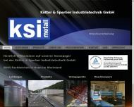 Bild Kötter & Sperber Industrietechnik GmbH Jürgen