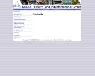 Website Delta Elektrotechnik