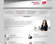 Website ISN Informations- u. System Management Nord
