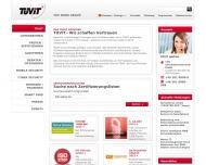 Bild Webseite TÜV Informationstechnik Essen