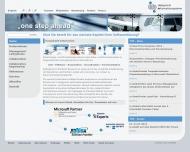 Bild Webseite IN-Integrierte Informationssysteme Konstanz
