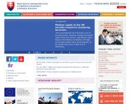 Bild Webseite Slowakische Republik - Generalkonsulat Allgemeine Informationen München
