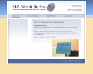 Bild Webseite Wendt-Brichta Maria Physiotherapie Dresden