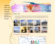 Website Ebert Physiotherapie