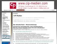 Bild Webseite CIP Centrum für Integrative Psychotherapie München