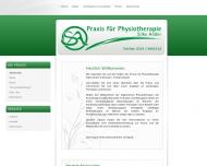 Bild Webseite Ander Silke Physiotherapie Dresden