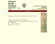 Bild Webseite Brade Thomas Psychotherapeut Berlin