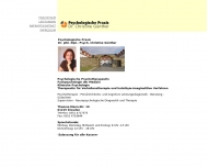 Bild Webseite Günther Christine Dr. Praxis für Psychotherapie Dresden