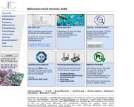 Bild Webseite PVU Elektronik Bergkirchen