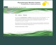 Website Physiotherapie Mareike Franken