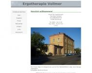 Bild Ergotherapeutin Vollmer Dorothee