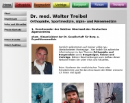 Bild Webseite Treibel W. Dr.med. München