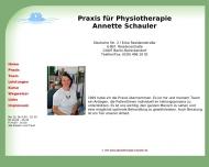 Bild Webseite Schauler Annette Praxis für Physiotherapie Berlin