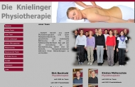 Website Krankengymnastik BECHTOLD & MÜLLERSCHÖN