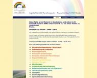 Bild Webseite Weinhold Angelika Physiotherapie Dresden