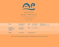 Bild Webseite Paserat Anke Dipl.-Psych. Psychotherapiepraxis Dresden
