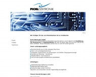 Website PICHL ELEKTRONIK