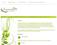 Website Blume Birgit Physiotherapie