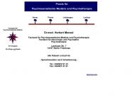 Bild Webseite Menzel Herbert Dr.med. Psychotherapeut Psychotherapeutische Praxis Berlin