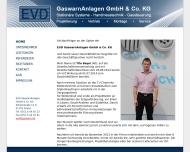 Bild Webseite EVD GaswarnAnlagen Freital