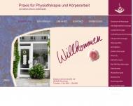 Bild Webseite Drick-Süßmeier Annelies Praxis für Physiotherapie München
