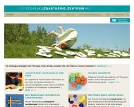 Bild Webseite Legasthenie- und Familienzentrum Berlin