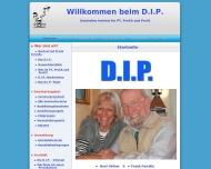 Bild Webseite Deutsches Institut für Provokative Therapie München