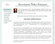 Bild Webseite Schumann Klaus Psychotherapeut München