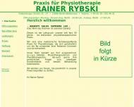 Bild Webseite Rybski Rainer Physiotherapie Berlin